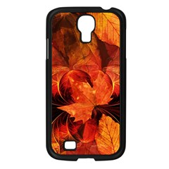 Ablaze With Beautiful Fractal Fall Colors Samsung Galaxy S4 I9500/ I9505 Case (black) by beautifulfractals