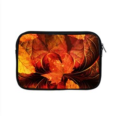 Ablaze With Beautiful Fractal Fall Colors Apple Macbook Pro 15  Zipper Case