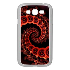 Chinese Lantern Festival For A Red Fractal Octopus Samsung Galaxy Grand Duos I9082 Case (white) by beautifulfractals