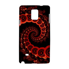 Chinese Lantern Festival For A Red Fractal Octopus Samsung Galaxy Note 4 Hardshell Case by beautifulfractals