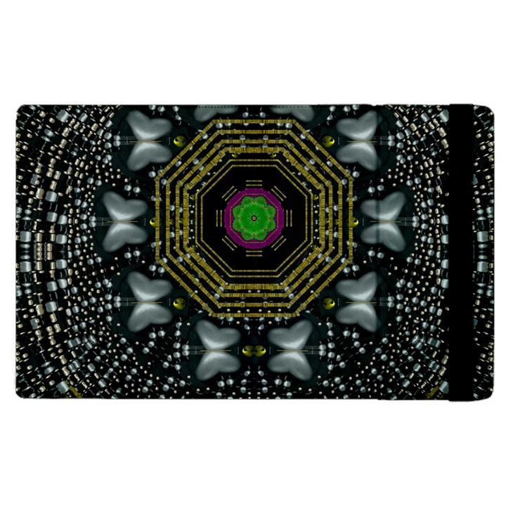 Leaf Earth And Heart Butterflies In The Universe Apple iPad 3/4 Flip Case