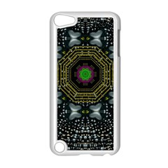 Leaf Earth And Heart Butterflies In The Universe Apple Ipod Touch 5 Case (white) by pepitasart