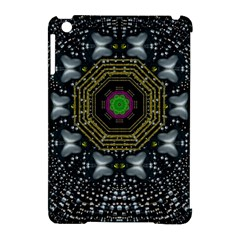 Leaf Earth And Heart Butterflies In The Universe Apple Ipad Mini Hardshell Case (compatible With Smart Cover) by pepitasart