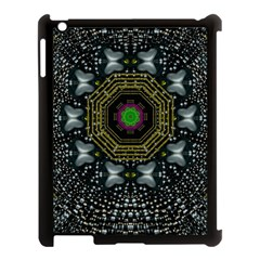 Leaf Earth And Heart Butterflies In The Universe Apple Ipad 3/4 Case (black) by pepitasart