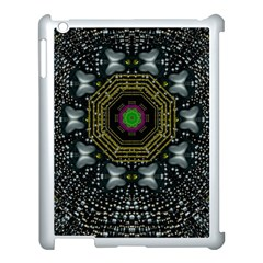 Leaf Earth And Heart Butterflies In The Universe Apple Ipad 3/4 Case (white) by pepitasart