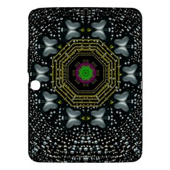 Leaf Earth And Heart Butterflies In The Universe Samsung Galaxy Tab 3 (10 1 ) P5200 Hardshell Case  by pepitasart