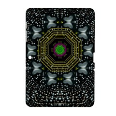 Leaf Earth And Heart Butterflies In The Universe Samsung Galaxy Tab 2 (10 1 ) P5100 Hardshell Case  by pepitasart