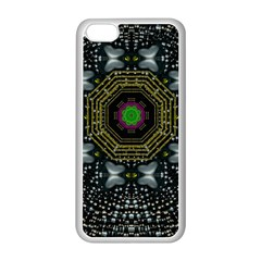 Leaf Earth And Heart Butterflies In The Universe Apple Iphone 5c Seamless Case (white) by pepitasart