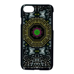 Leaf Earth And Heart Butterflies In The Universe Apple Iphone 8 Seamless Case (black)
