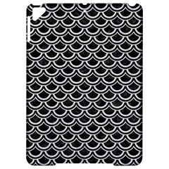 Scales2 Black Marble & Silver Glitter (r) Apple Ipad Pro 9 7   Hardshell Case by trendistuff