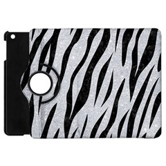 Skin3 Black Marble & Silver Glitter Apple Ipad Mini Flip 360 Case by trendistuff