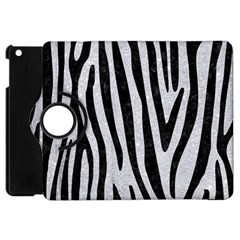 Skin4 Black Marble & Silver Glitter (r) Apple Ipad Mini Flip 360 Case by trendistuff