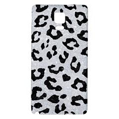 Skin5 Black Marble & Silver Glitter (r) Galaxy Note 4 Back Case by trendistuff
