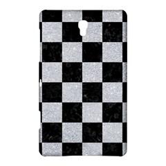 Square1 Black Marble & Silver Glitter Samsung Galaxy Tab S (8 4 ) Hardshell Case  by trendistuff