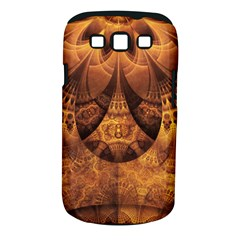 Beautiful Gold And Brown Honeycomb Fractal Beehive Samsung Galaxy S Iii Classic Hardshell Case (pc+silicone) by jayaprime