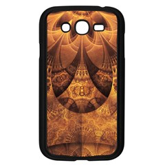 Beautiful Gold And Brown Honeycomb Fractal Beehive Samsung Galaxy Grand Duos I9082 Case (black) by jayaprime