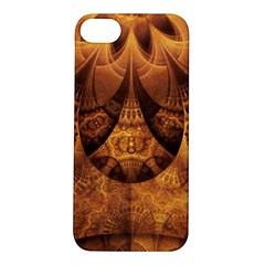 Beautiful Gold And Brown Honeycomb Fractal Beehive Apple Iphone 5s/ Se Hardshell Case by beautifulfractals