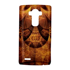Beautiful Gold And Brown Honeycomb Fractal Beehive Lg G4 Hardshell Case by jayaprime
