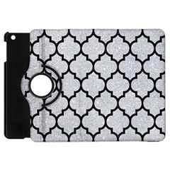 Tile1 Black Marble & Silver Glitter Apple Ipad Mini Flip 360 Case by trendistuff