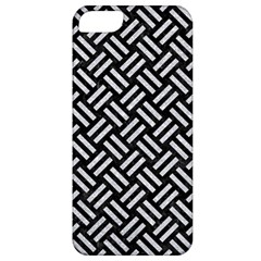 Woven2 Black Marble & Silver Glitter (r) Apple Iphone 5 Classic Hardshell Case