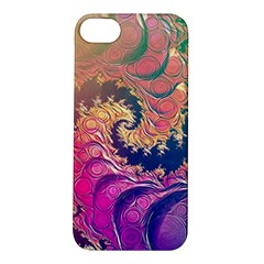 Rainbow Octopus Tentacles In A Fractal Spiral Apple Iphone 5s/ Se Hardshell Case by jayaprime