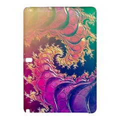 Rainbow Octopus Tentacles In A Fractal Spiral Samsung Galaxy Tab Pro 12 2 Hardshell Case by jayaprime