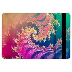Rainbow Octopus Tentacles In A Fractal Spiral Ipad Air 2 Flip by beautifulfractals