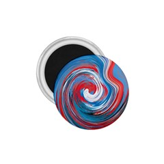 Red And Blue Rounds 1 75  Magnets by berwies
