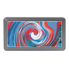 Red And Blue Rounds Memory Card Reader (mini)