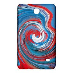 Red And Blue Rounds Samsung Galaxy Tab 4 (7 ) Hardshell Case  by berwies