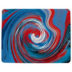 Red And Blue Rounds Jigsaw Puzzle Photo Stand (rectangular) by berwies