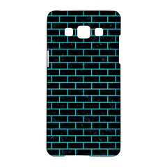 Brick1 Black Marble & Turquoise Colored Pencil (r) Samsung Galaxy A5 Hardshell Case  by trendistuff