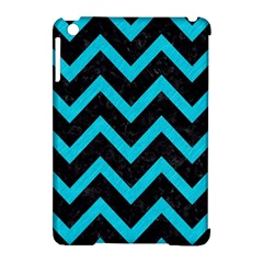 Chevron9 Black Marble & Turquoise Colored Pencil (r) Apple Ipad Mini Hardshell Case (compatible With Smart Cover) by trendistuff