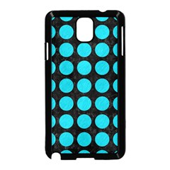 Circles1 Black Marble & Turquoise Colored Pencil (r) Samsung Galaxy Note 3 Neo Hardshell Case (black) by trendistuff