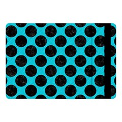 Circles2 Black Marble & Turquoise Colored Pencil Apple Ipad Pro 10 5   Flip Case by trendistuff