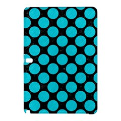 Circles2 Black Marble & Turquoise Colored Pencil (r) Samsung Galaxy Tab Pro 10 1 Hardshell Case by trendistuff