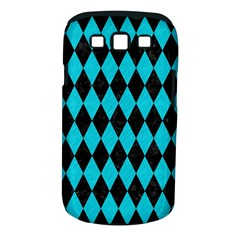 Diamond1 Black Marble & Turquoise Colored Pencil Samsung Galaxy S Iii Classic Hardshell Case (pc+silicone) by trendistuff