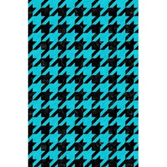 Houndstooth1 Black Marble & Turquoise Colored Pencil 5 5  X 8 5  Notebooks by trendistuff