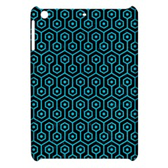 Hexagon1 Black Marble & Turquoise Colored Pencil (r) Apple Ipad Mini Hardshell Case by trendistuff