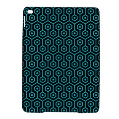 Hexagon1 Black Marble & Turquoise Colored Pencil (r) Ipad Air 2 Hardshell Cases by trendistuff