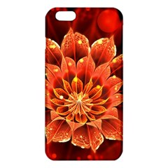 Beautiful Ruby Red Dahlia Fractal Lotus Flower Iphone 6 Plus/6s Plus Tpu Case by jayaprime