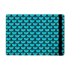 Scales3 Black Marble & Turquoise Colored Pencil Ipad Mini 2 Flip Cases by trendistuff