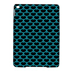 Scales3 Black Marble & Turquoise Colored Pencil (r) Ipad Air 2 Hardshell Cases by trendistuff