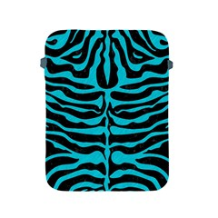 Skin2 Black Marble & Turquoise Colored Pencil (r) Apple Ipad 2/3/4 Protective Soft Cases by trendistuff