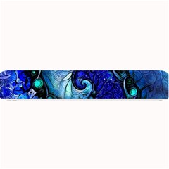 Nocturne Of Scorpio, A Fractal Spiral Painting Small Bar Mats by beautifulfractals