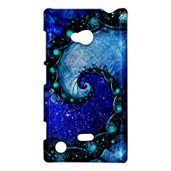 Nocturne Of Scorpio, A Fractal Spiral Painting Nokia Lumia 720 by beautifulfractals