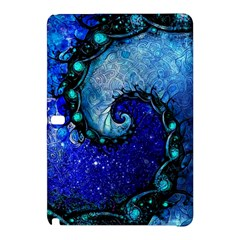 Nocturne Of Scorpio, A Fractal Spiral Painting Samsung Galaxy Tab Pro 10 1 Hardshell Case by jayaprime