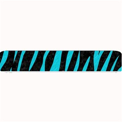 Skin3 Black Marble & Turquoise Colored Pencil (r) Small Bar Mats by trendistuff