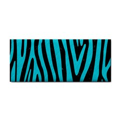 Skin4 Black Marble & Turquoise Colored Pencil Cosmetic Storage Cases by trendistuff
