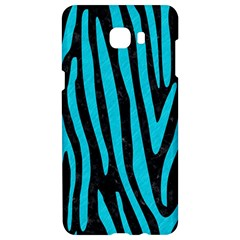 Skin4 Black Marble & Turquoise Colored Pencil Samsung C9 Pro Hardshell Case  by trendistuff